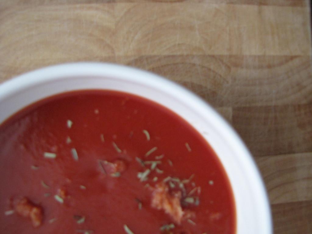 Tomaten-venkelsoep met sinaasappel