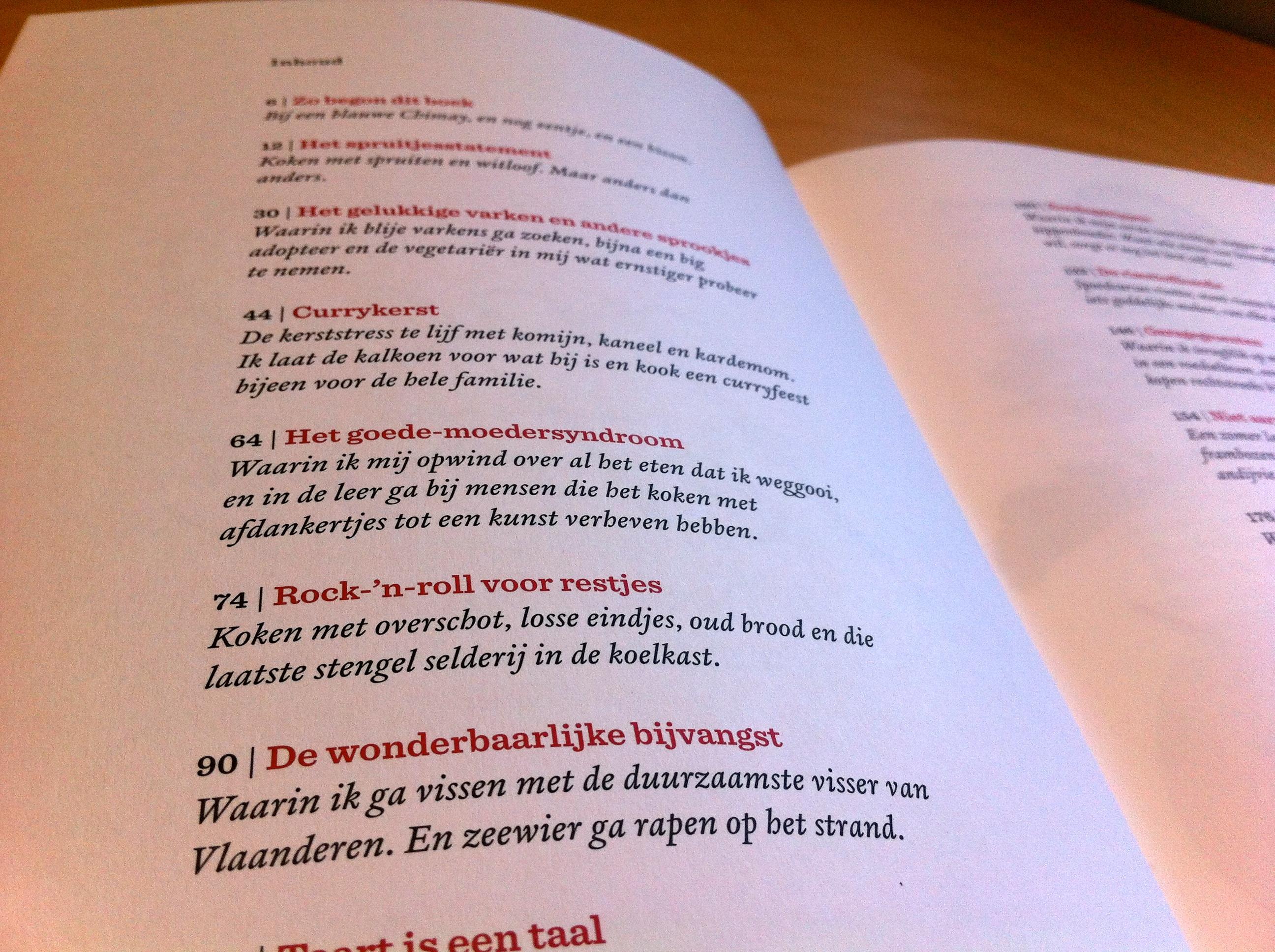 Kookboekweek 1  kookboek: goed eten   geertruurzaam