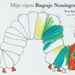 rupsje nooitgenoeg kleurboek