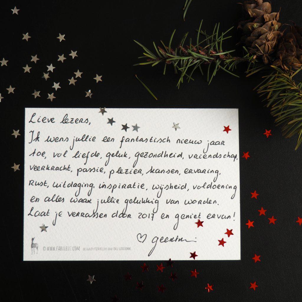 ecologisch verantwoorde kerstkaart