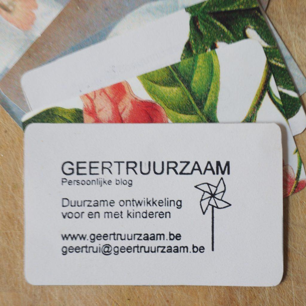 duurzaam visitekaartje